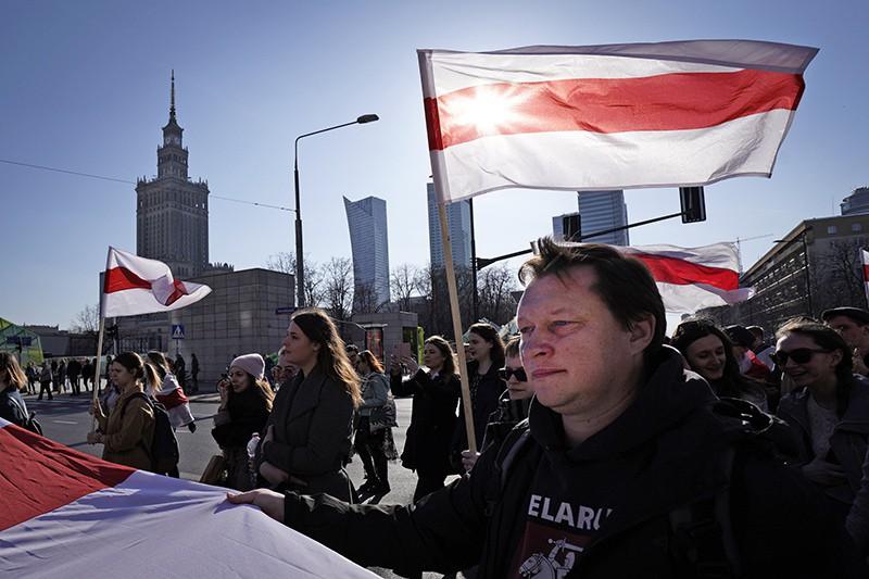 Митинг в Белорусии