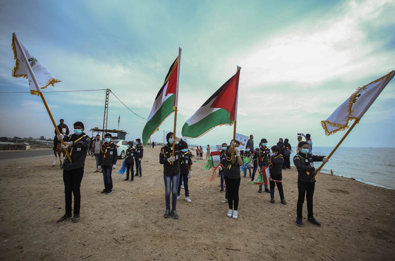 Жители Палестины