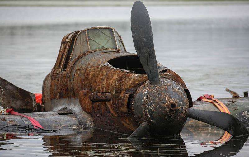 Подъем штурмовика Ил-2