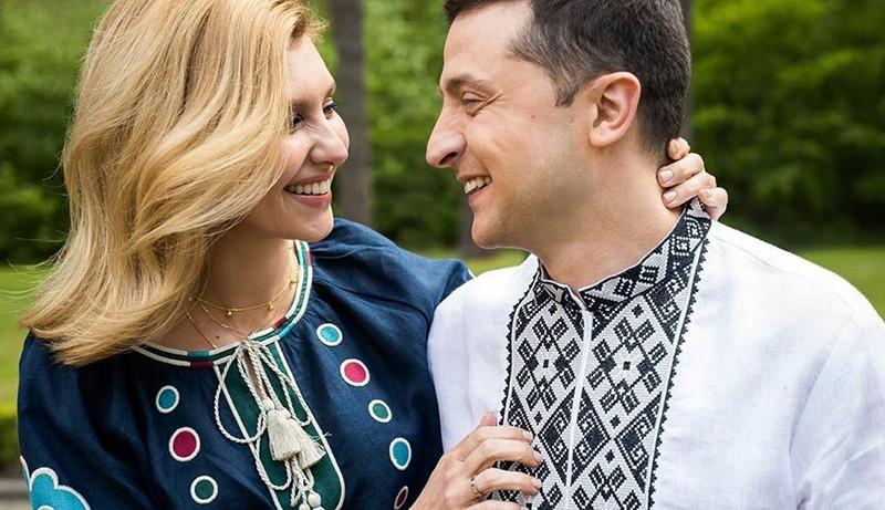 Владимир Зеленский и Елена