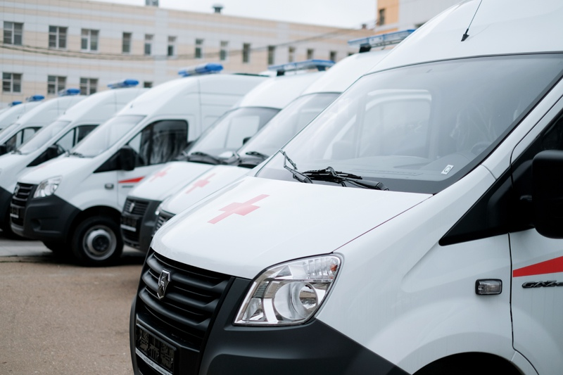 Новые кареты скорой помощи