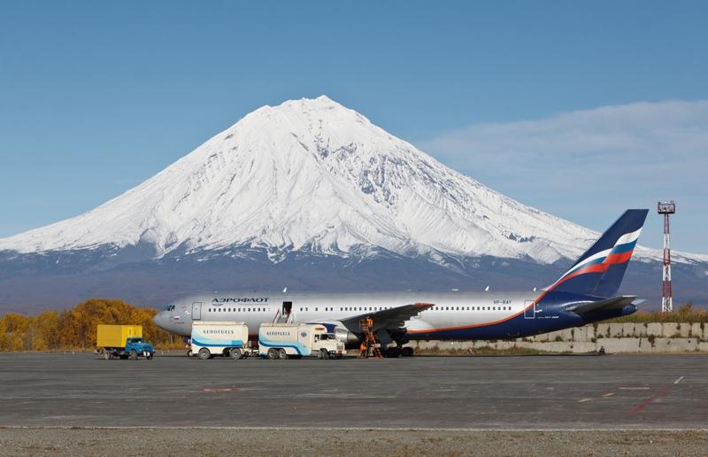 На Камчатке установили оранжевый код опасности для авиации из-за вулкана