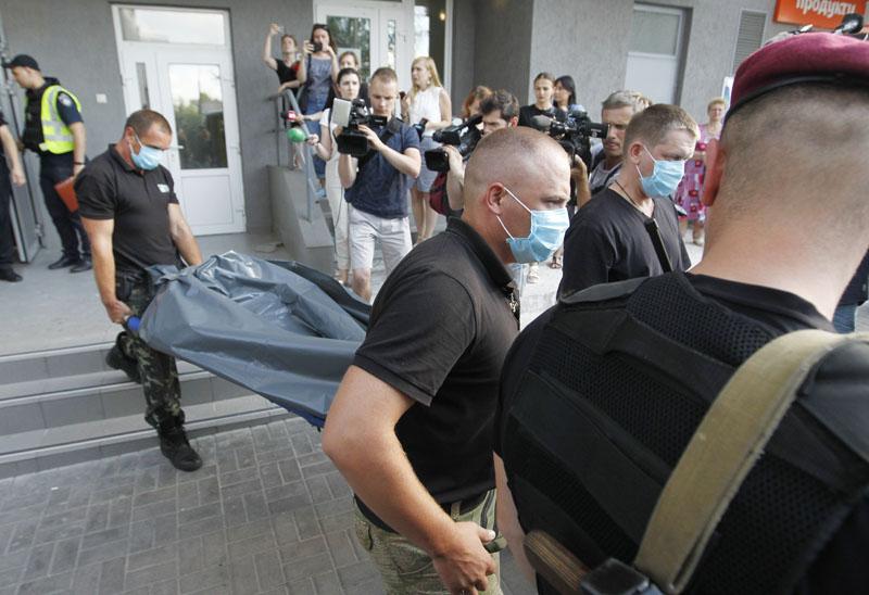 В Киеве прогремел взрыв возле офиса пророссийской партии