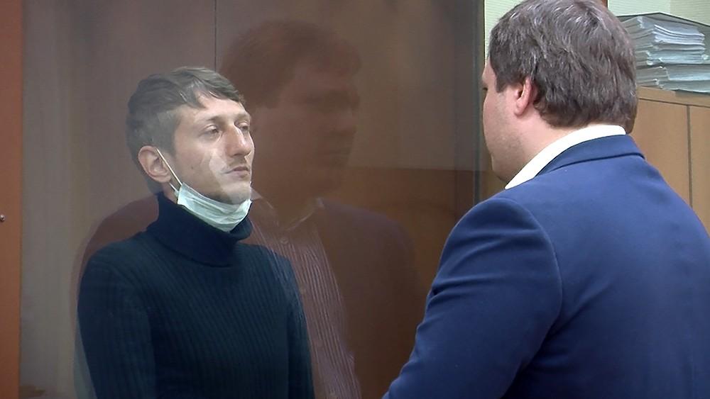 Избрание меры пресечения Алексею Барышникову, обвиняемому в захвате заложников в отделении банка