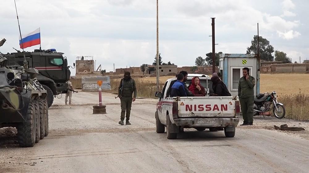 Трасса М-4 в Сирии