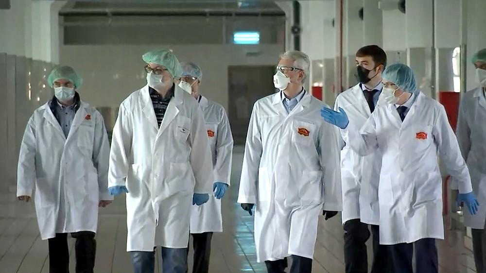 Сергей Собянин посетил хлебоомбинат