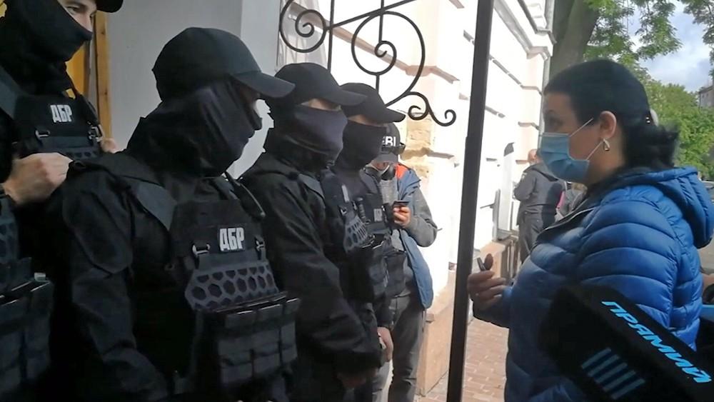Сотрудники Державного бюро розследования Украины