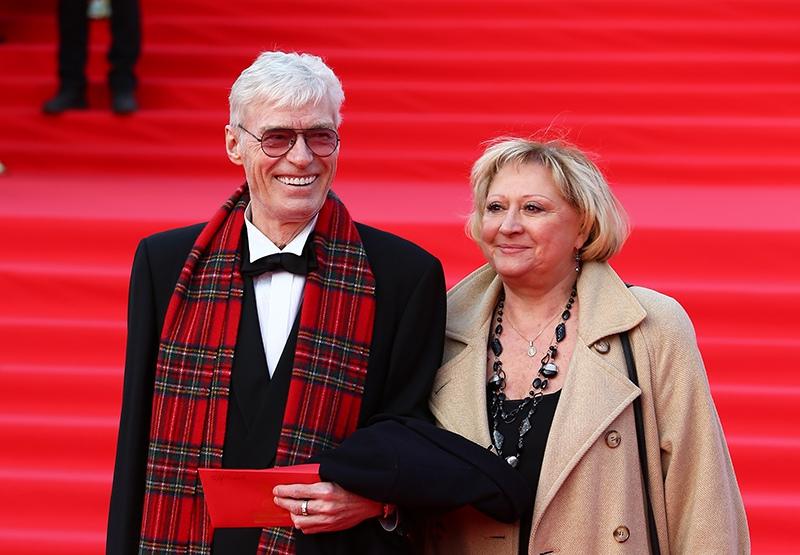 Борис Щербаков и его жена Татьяна Бронзова
