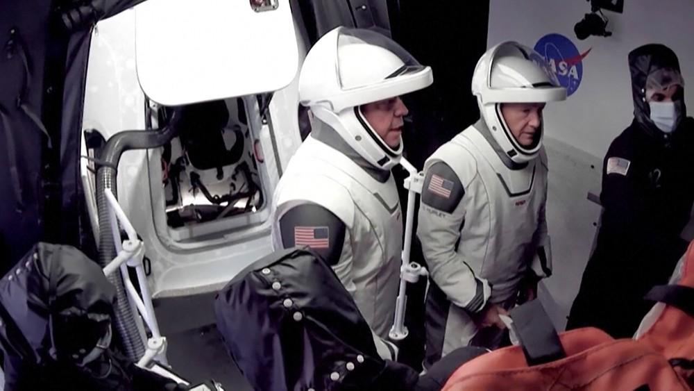 Астронавты NASA