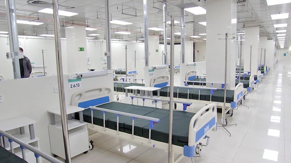 Резервный коронавирусный госпиталь