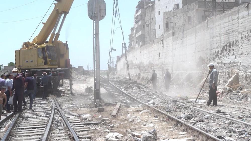 Станция в Сирии