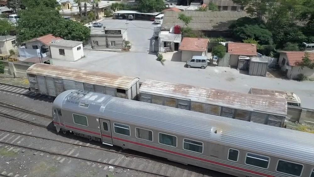 Поезд Дамаск - Алеппо