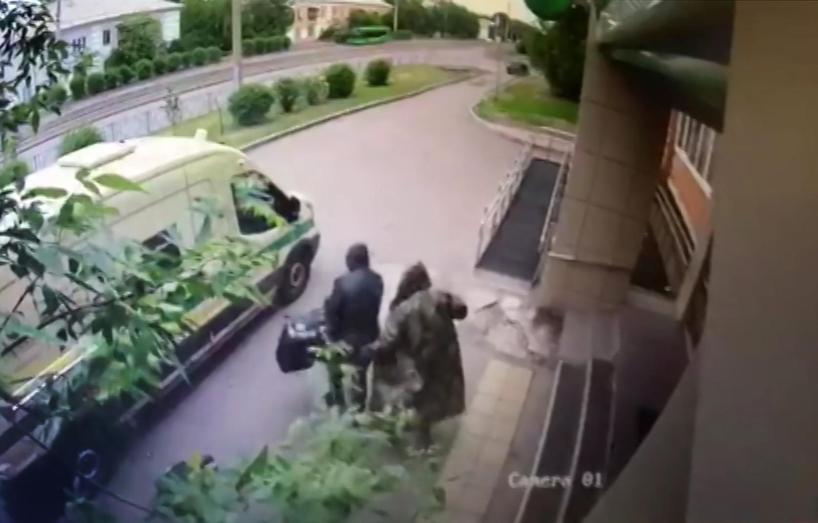 Ограбление инкассаторов в Красноярске