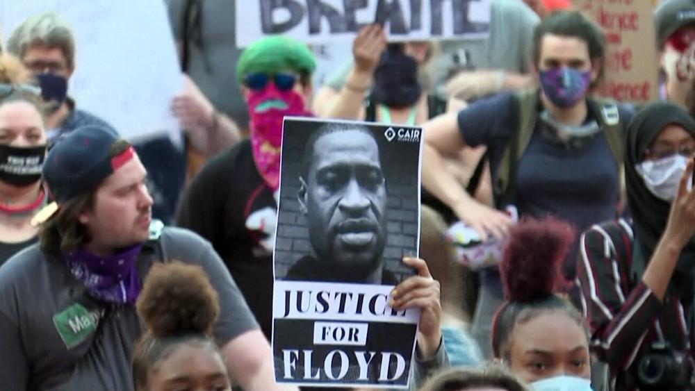 Уличные протесты в Миннеаполисе