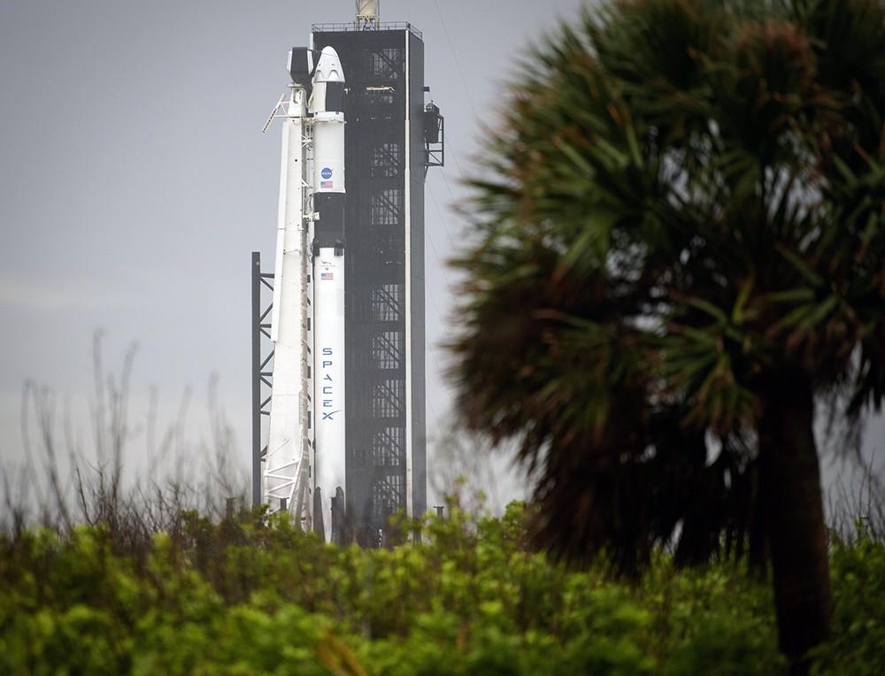Пилотируемый корабль Crew Dragon компании SpaceX
