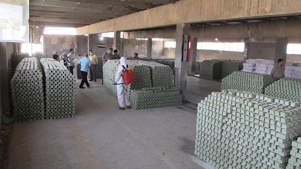 Мыловаренный завод в Сирии