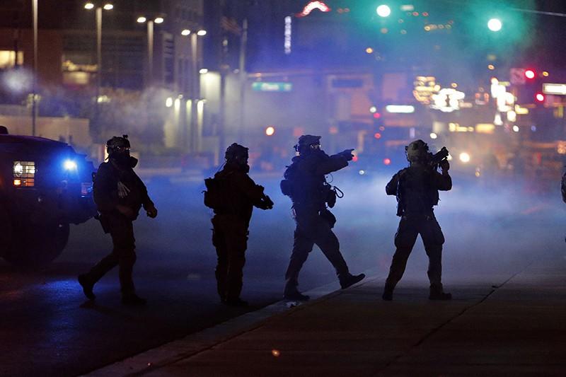 Беспорядки в США