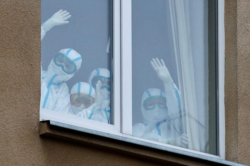 Больница для лечения пациентов с коронавирусом