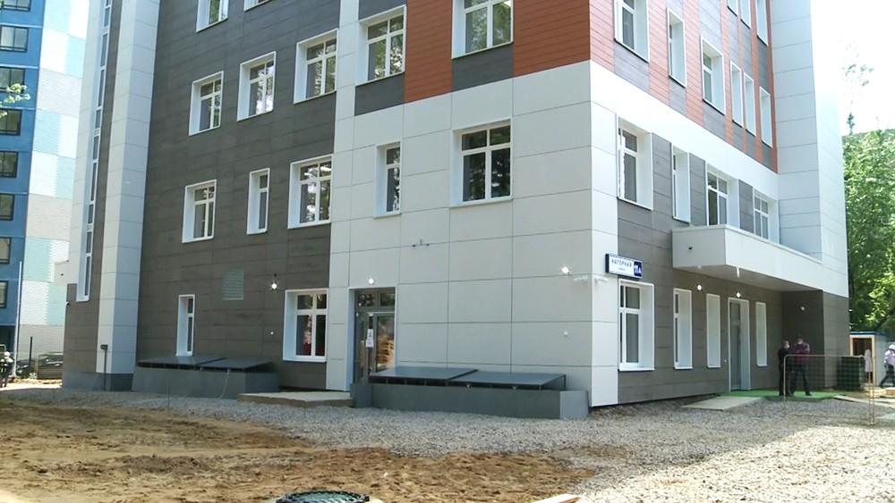 Строительство центра социального обслуживания