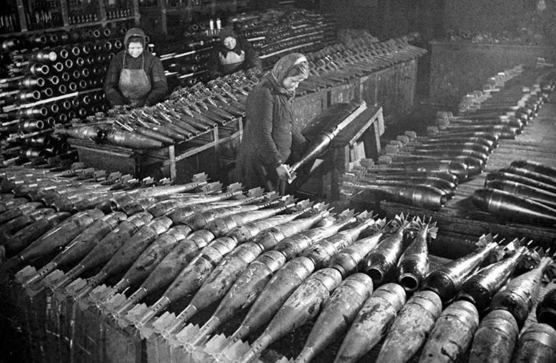 Военное производство во время войны