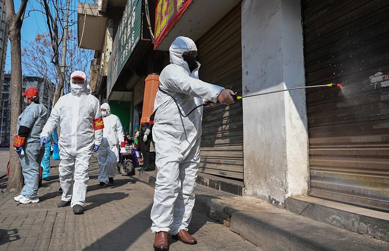 Меры безопасности против распространения коронавирусаы в Китае