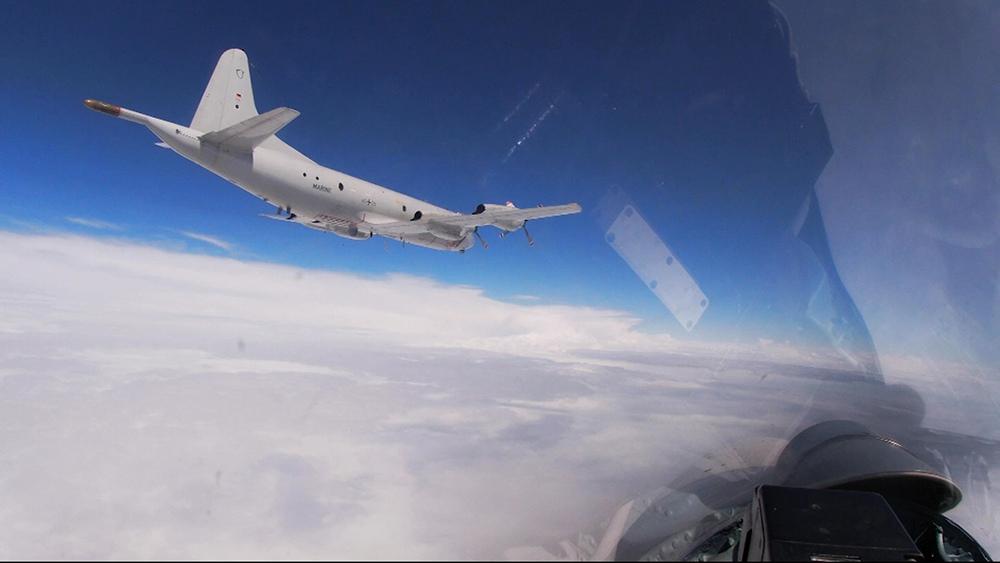 Перехват бомбардировщиков НАТО