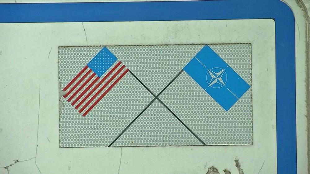 Флаги США и НАТО