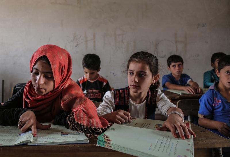 Сирийские школьники