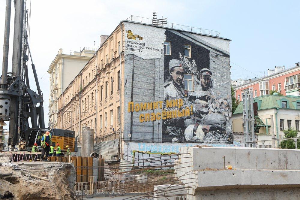 Реконструкция Каланчёвского путепровода