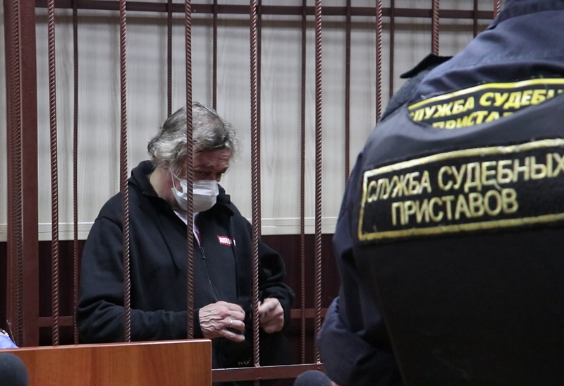 Избрание меры пресечения актеру Ефремову по делу о ДТП в Москве