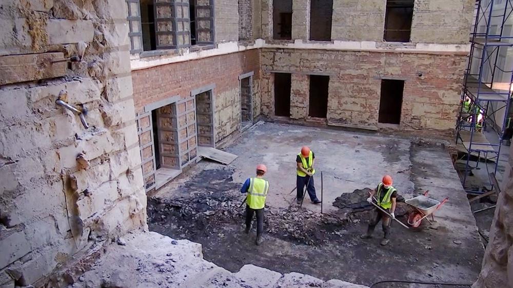 Реконструкция больницы