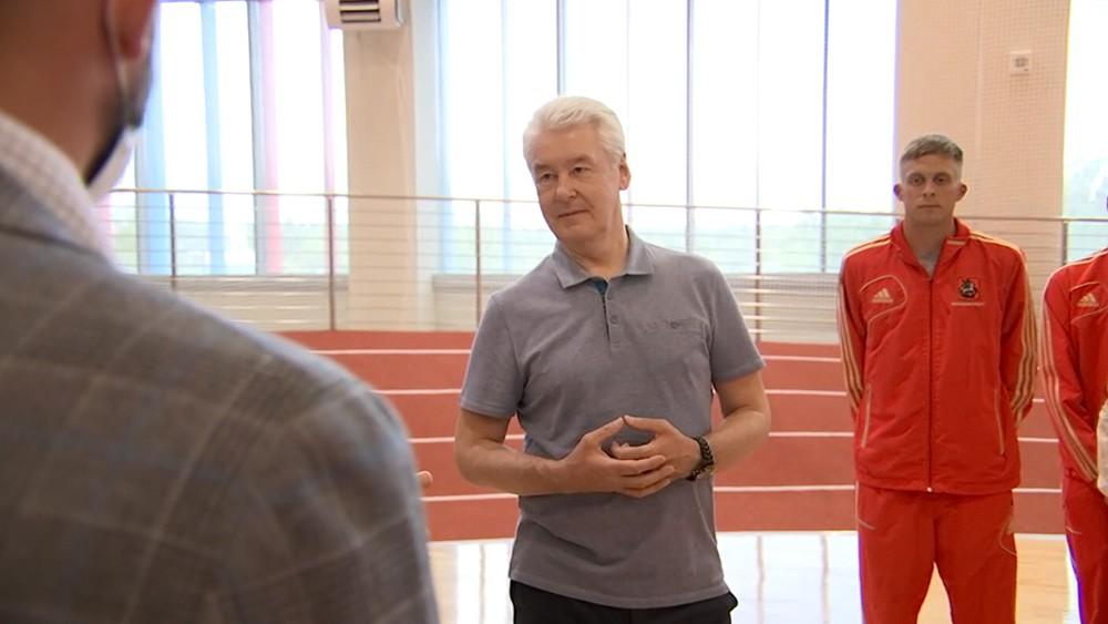 Сергей Собянин посетил новый центр пятиборья