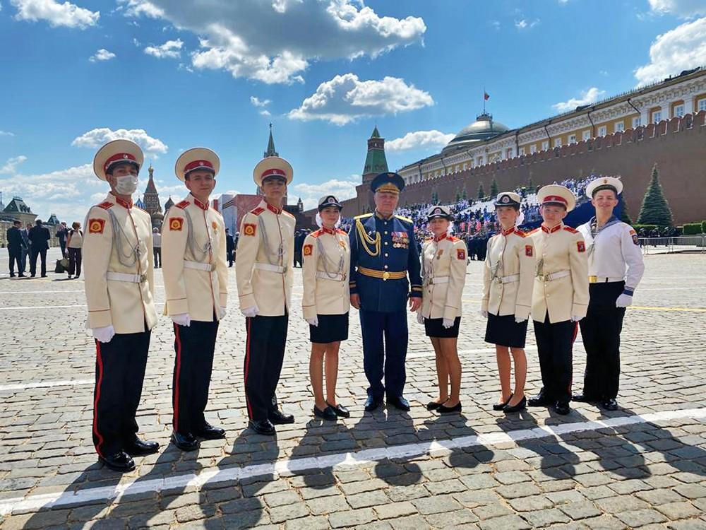 Воспитанники Первого Московского кадетского корпуса