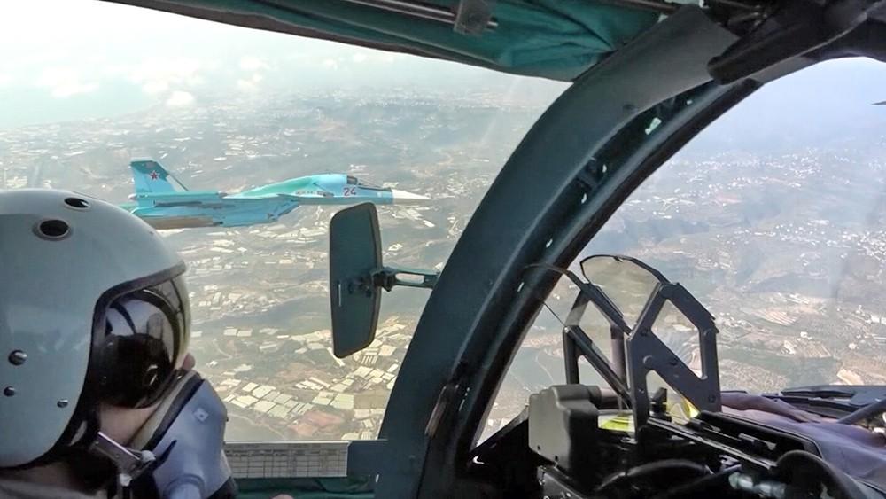 Пилоты истребителей ВКС России