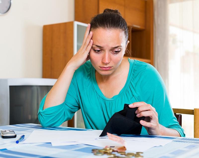 Девушка без денег