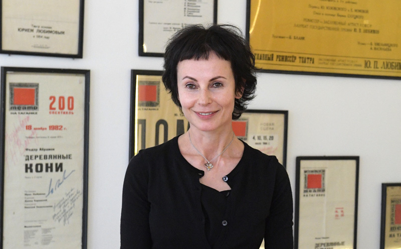 Директор Театра на Таганке, актриса Ирина Апексимова