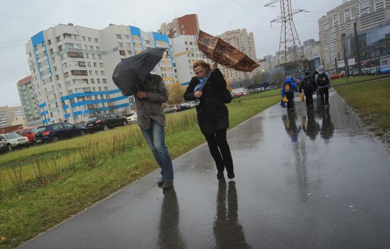 Шторм в Санкт-Петербурге
