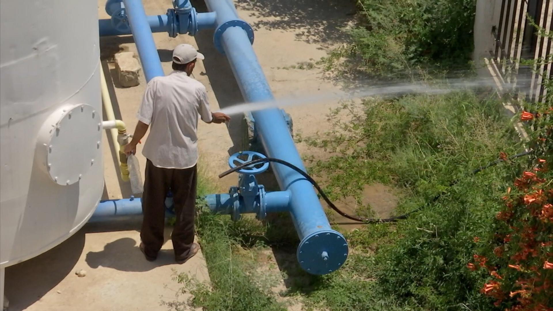 В Сирии запущена новая водонасосная станция