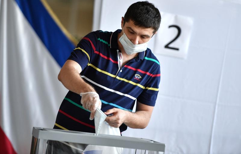 Голосование по поправкам в Конституцию России в Крыму