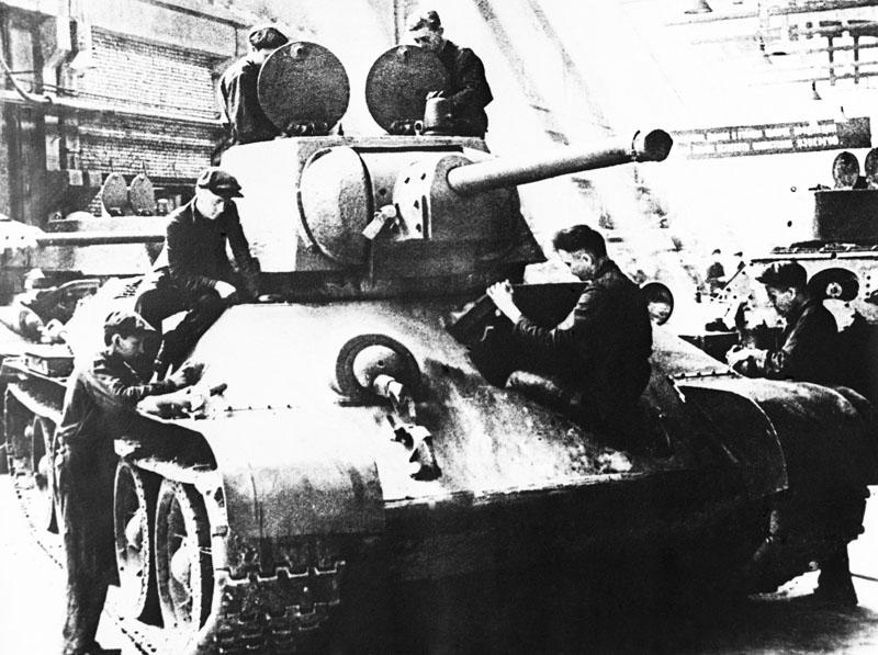 Производство танков Т-34
