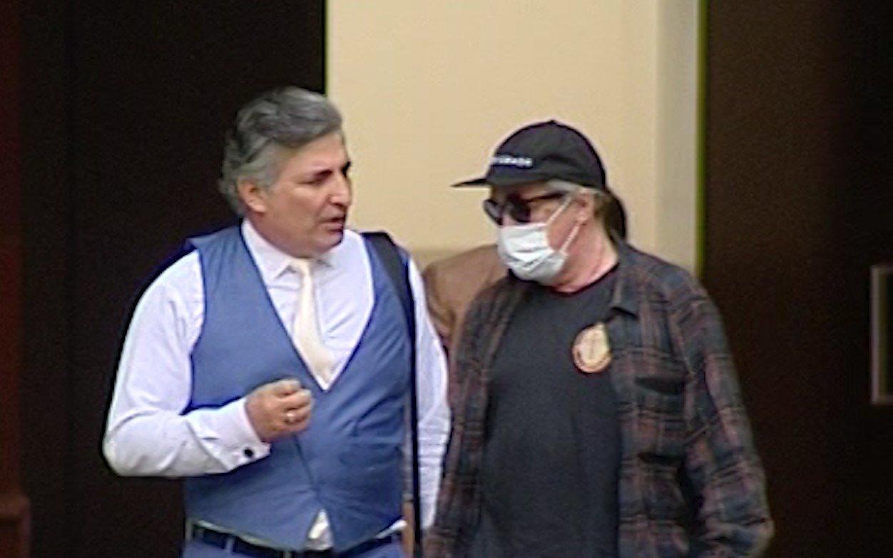 Адвокат Эльман Пашаев и актер Михаил Ефремов