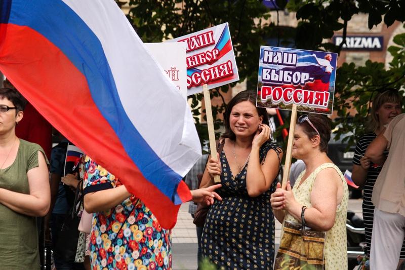 Сделано заявление о вхождении ДНР и ЛНР в состав России