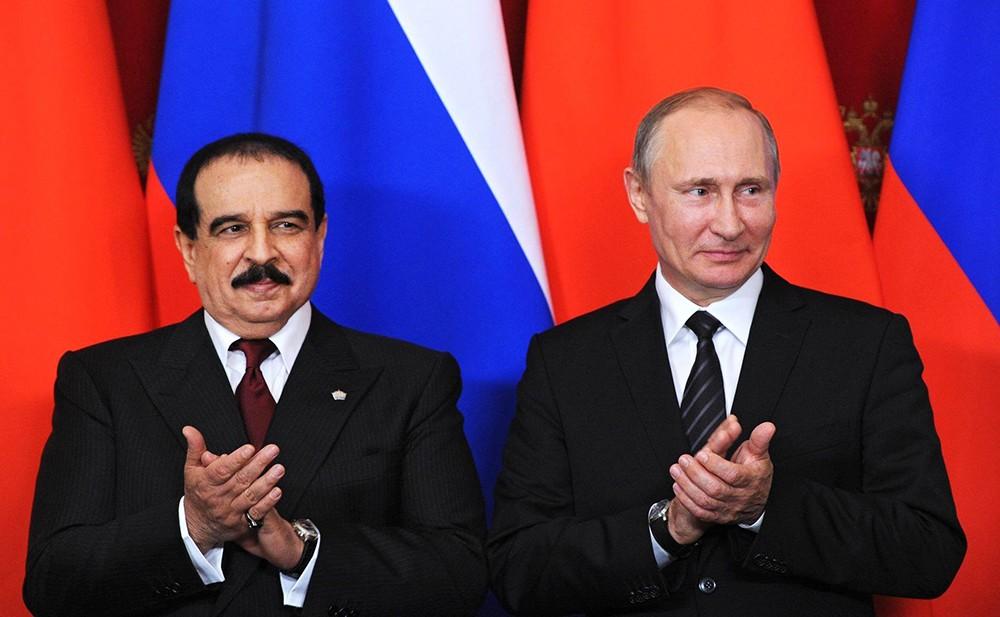 Владимир Путин и Хамад Бен Иса Аль Халифа