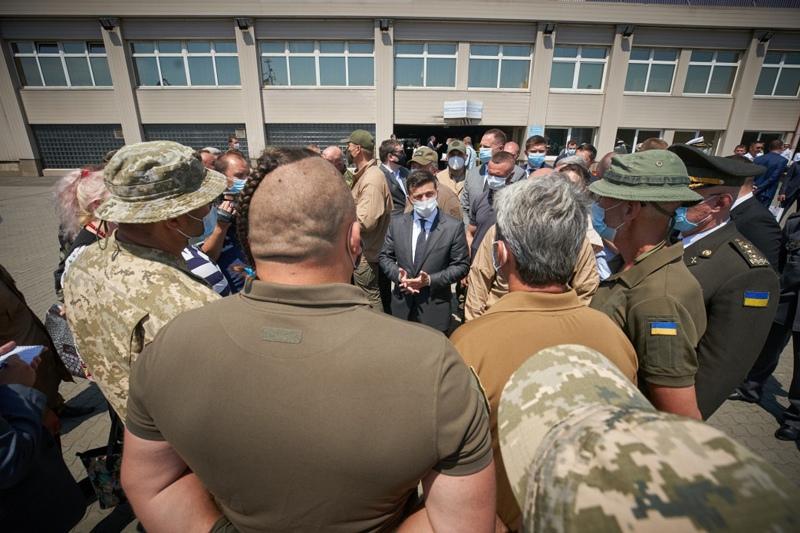 Рабочая поездка Владимира Зеленского в Одесскую область