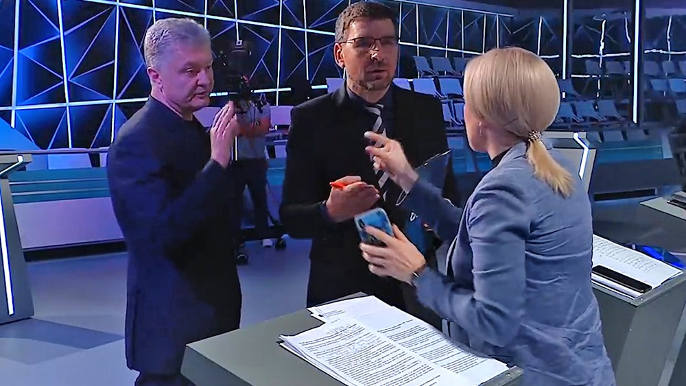 Пётр Порошенко на телешоу
