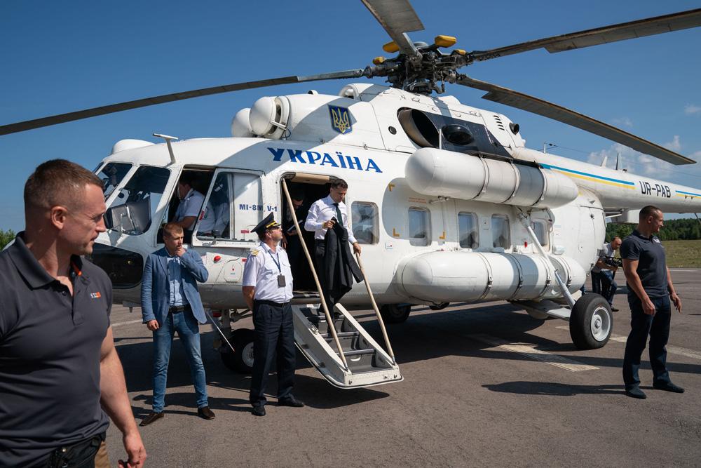 Владимир Зеленский выехал в Луганскую область из-за лесных пожаров