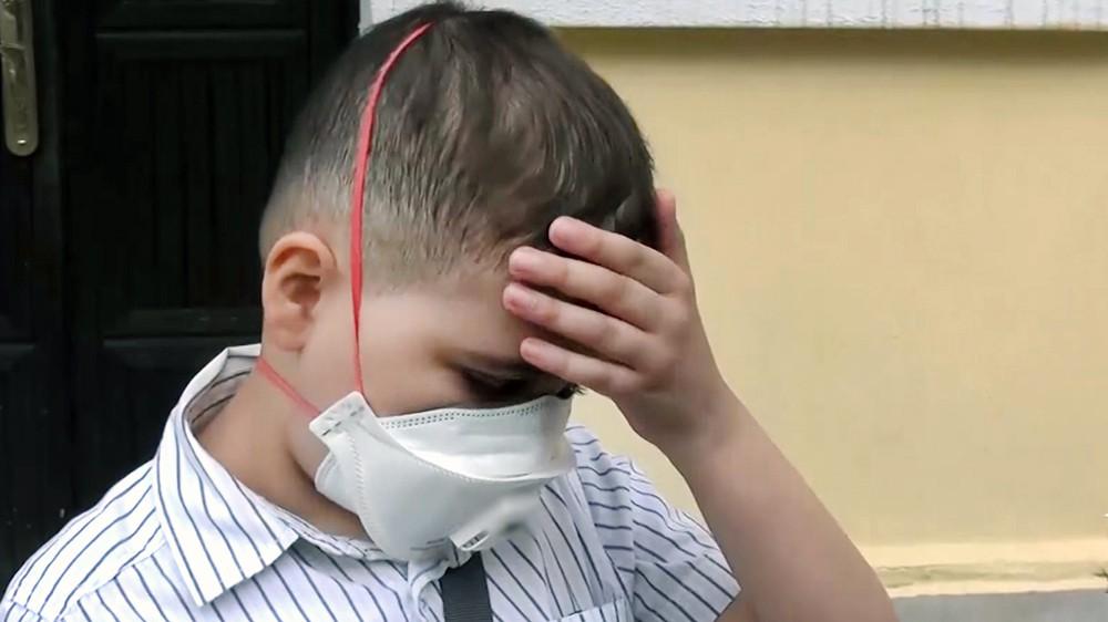 Мальчик, у которого украли деньги на лечение