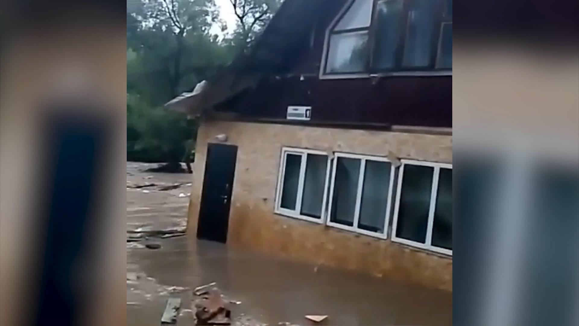 Наводнение в Подмосковье