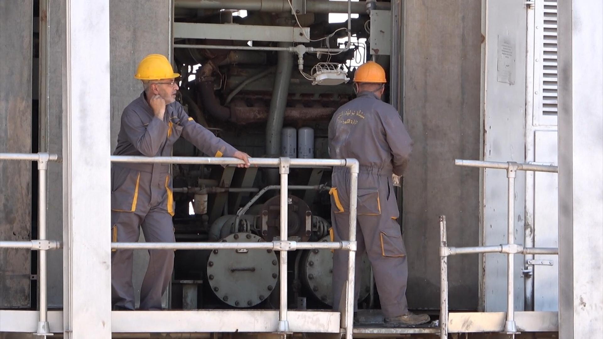 В Дейр-эз-Зоре восстановили разрушенную электростанцию
