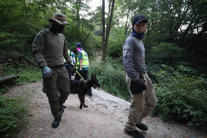Поиски пропавшего без вести мэра Сеула